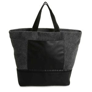 Grey Felt Tote - Great for Shoes!